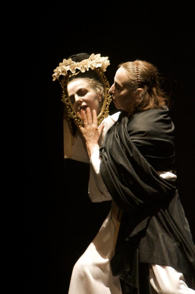 Sor Juana en el espejo